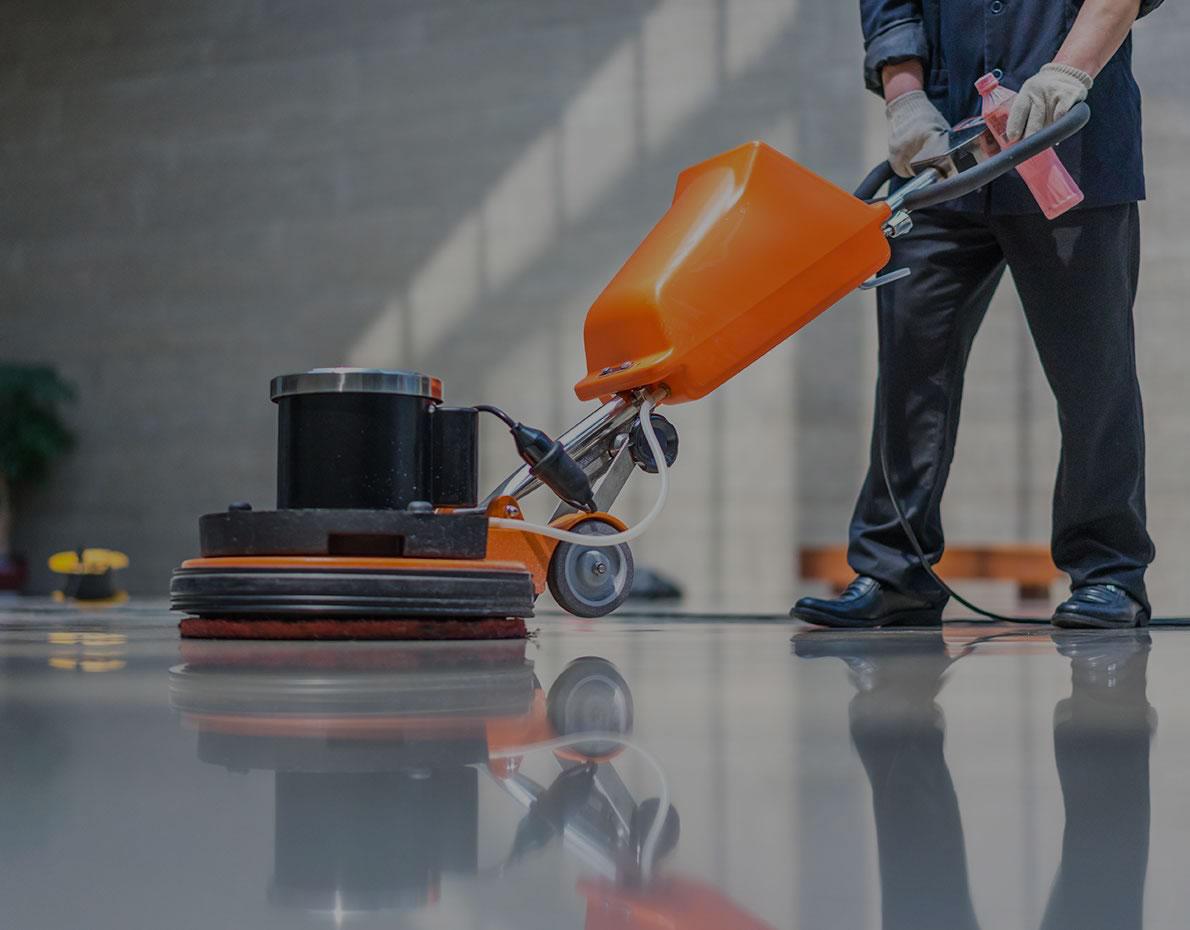Monospazzole per la pulizia pavimenti
