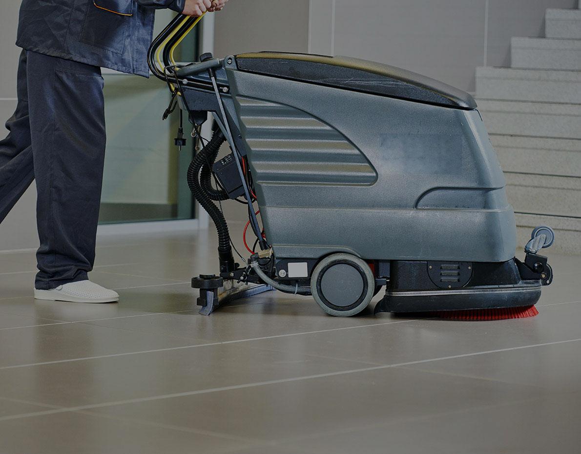 Macchina pulitrice per pavimenti